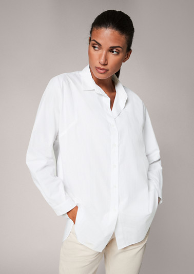 Loose-fitting cotton blouse from comma