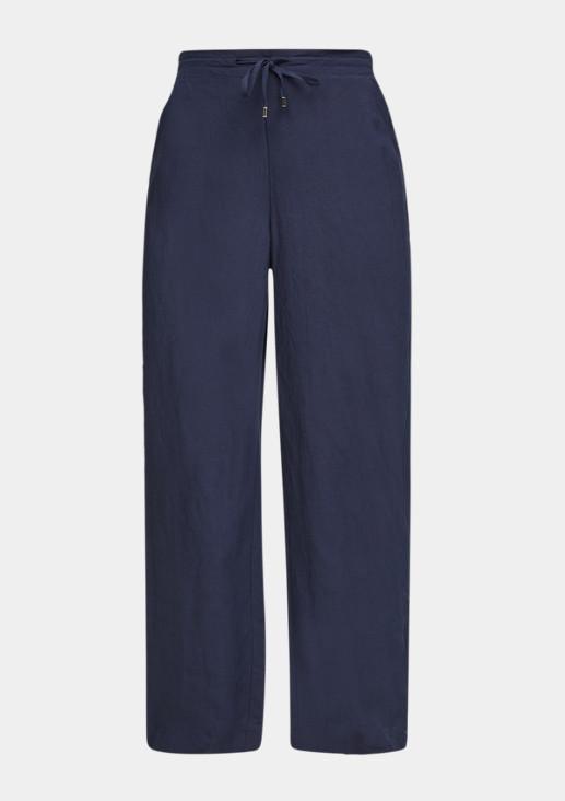 Regular Fit: Wide leg-Hose