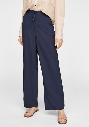 Regular Fit: Wide leg-Hose