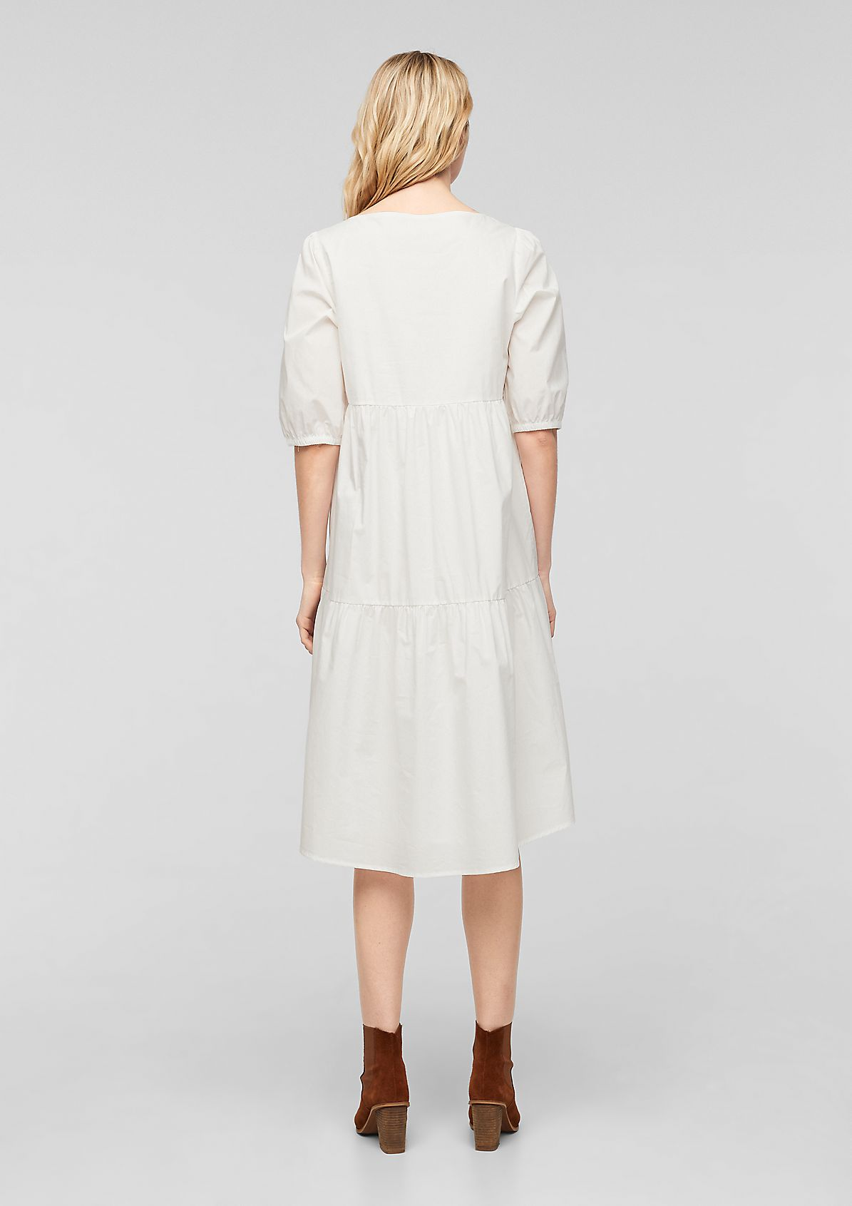 Loose-fitting midi dress from comma