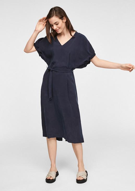 Kleid aus Cupro-Mix