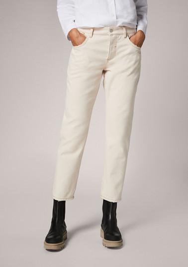 Regular: twill boyfriend jeans from comma