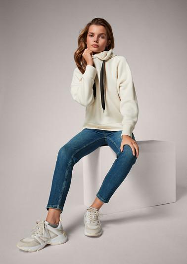 Sweatshirt with raglan sleeves from comma