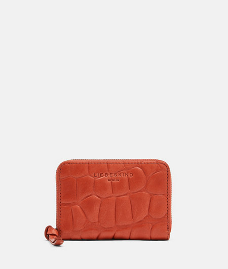 Purse with a crocodile effect from liebeskind
