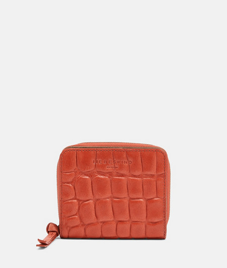 Practical crocodile-look purse from liebeskind
