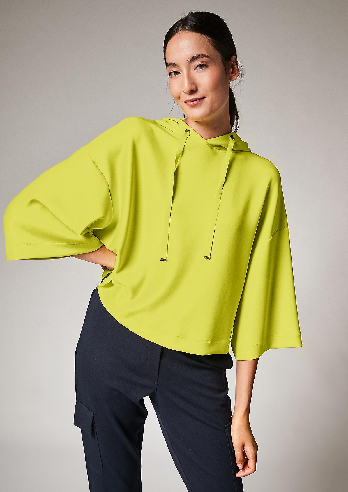 Lockeres Sweatshirt aus Scuba