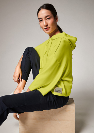 Loose sweatshirt made of scuba from comma