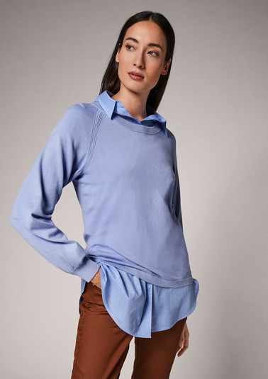 Softer Feinstrick-Pullover