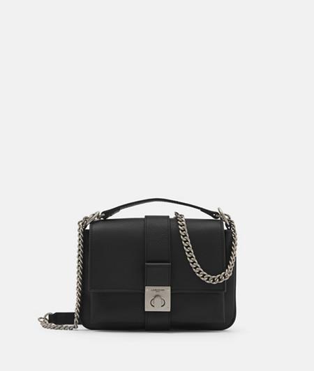 Handliche Crossbody Bag mit Ketten-Details