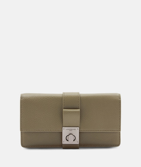 Large wallet with a decorative fastener from liebeskind