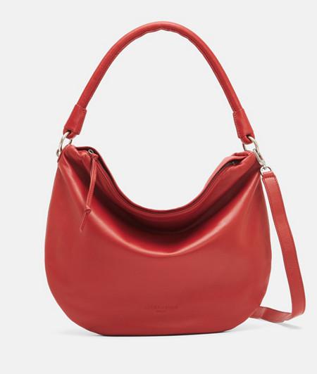 Zeitlose Handtasche aus Glattleder