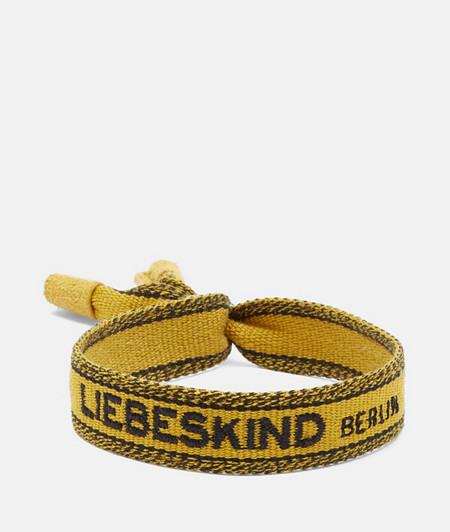 Bracelet fantaisie en tissu de liebeskind