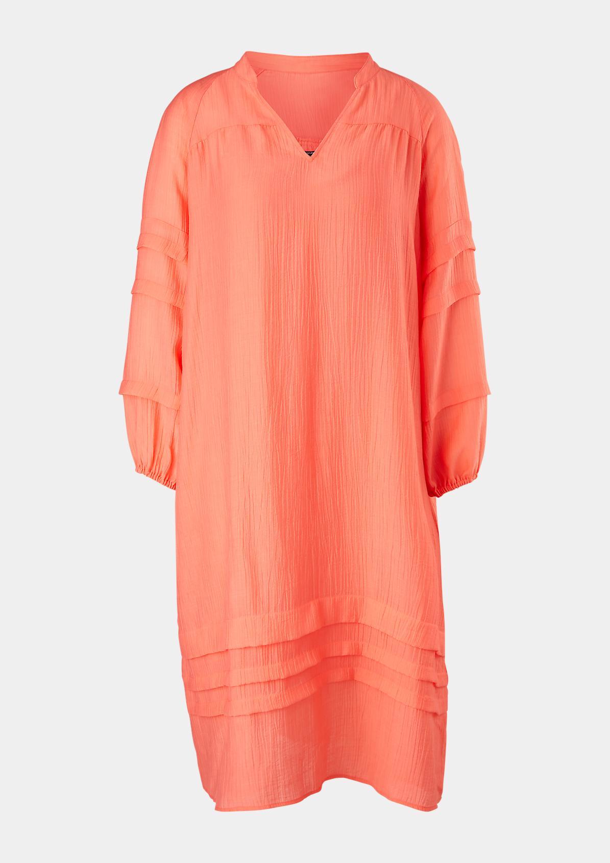 Lockeres Kleid aus Lyocellmix