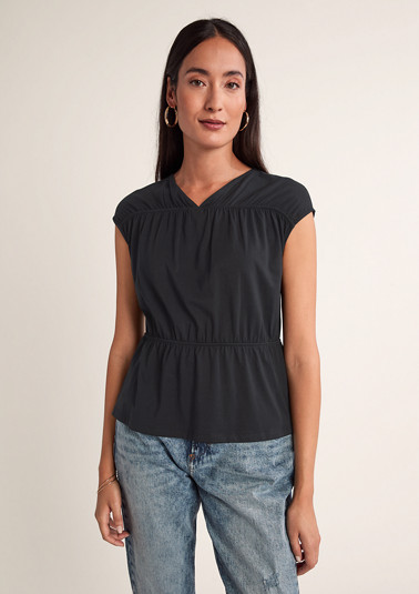 T-shirt in pima cotton from comma