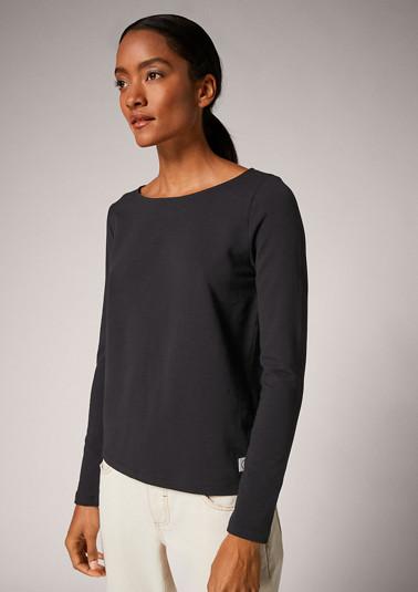 Langarmshirt aus Jersey
