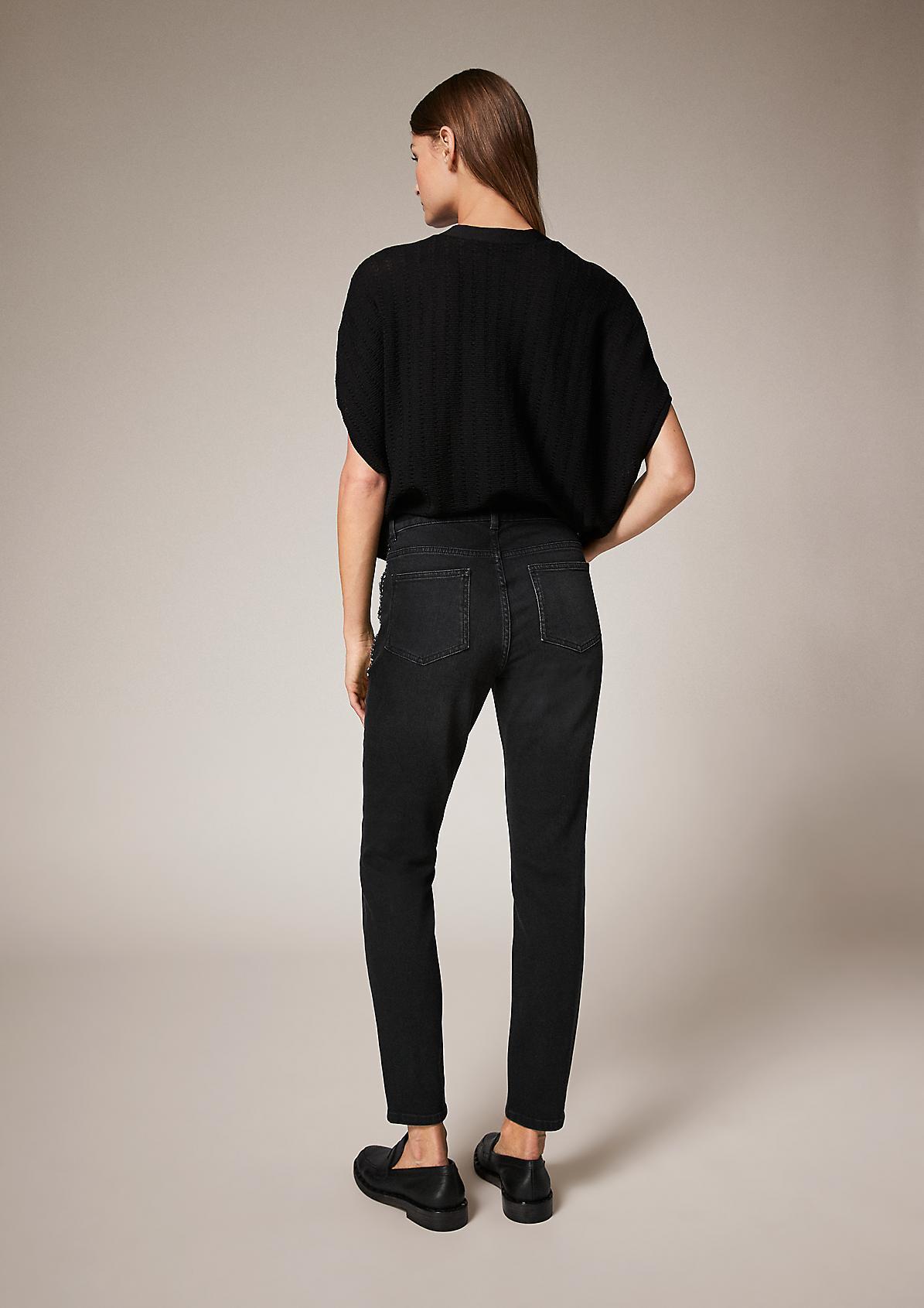 Slim: Jeans mit Nieten