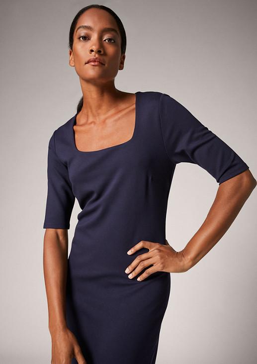 Dress in interlock jersey from comma