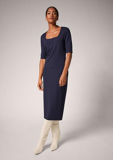 Kleid aus Interlockjersey