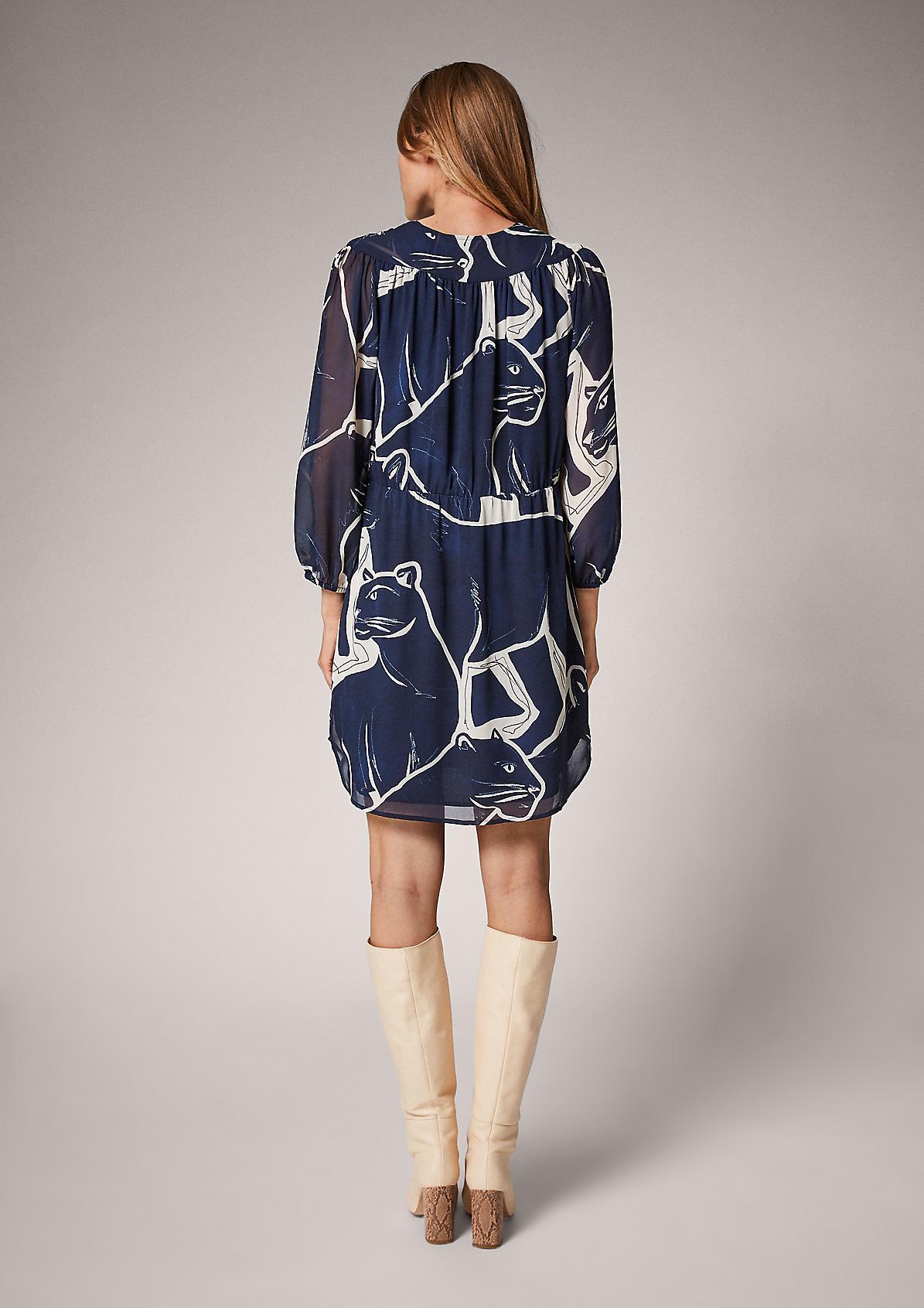 Long chiffon blouse from comma