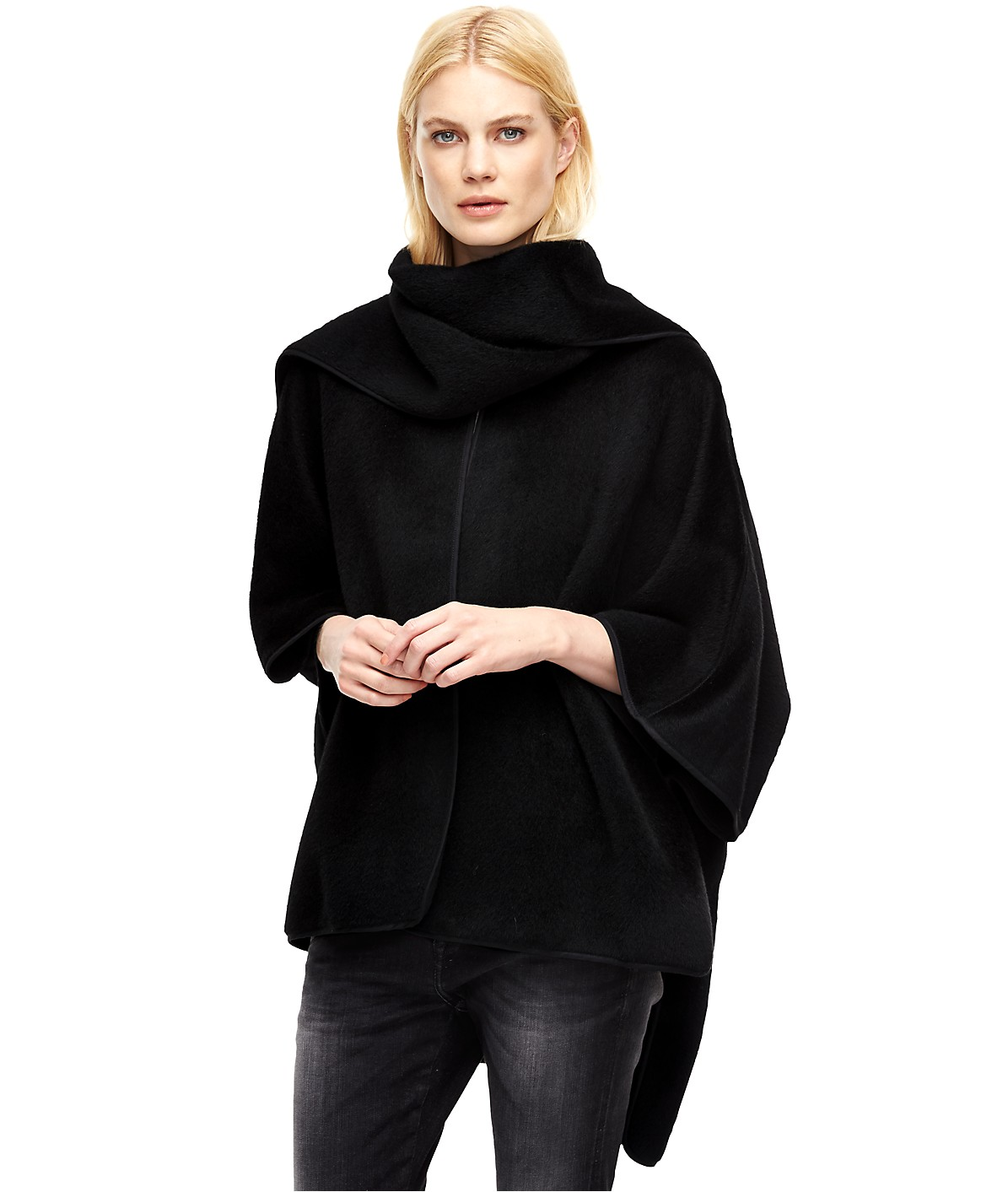 Oversized poncho from liebeskind