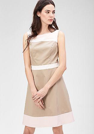 Kleid im Colorblocking-Design