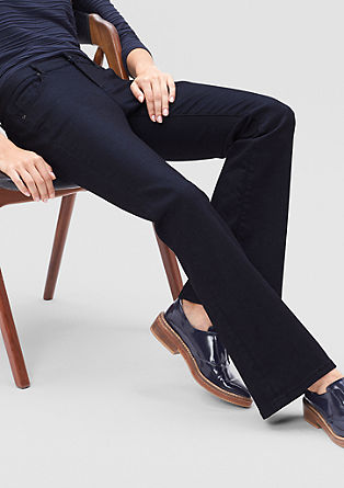 Slim: Dark boot jeans from s.Oliver