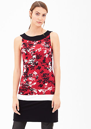 Sleeveless long top from s.Oliver
