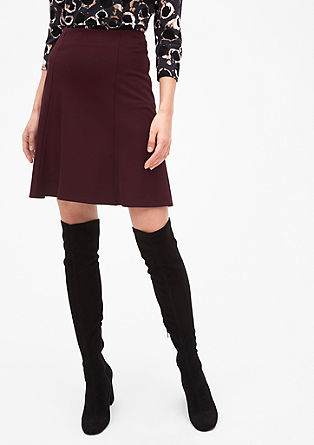 A-line jersey skirt from s.Oliver