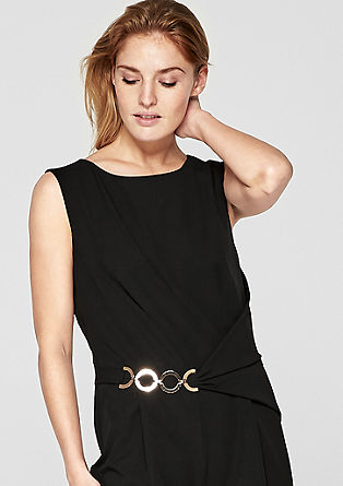 Eleganter Jumpsuit in Wickel-Optik