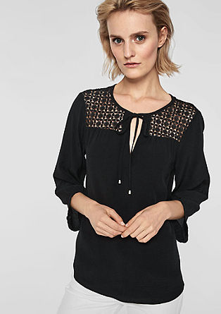 Tunic with lace from s.Oliver