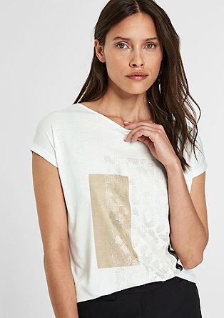Printshirt mit Bindedetail