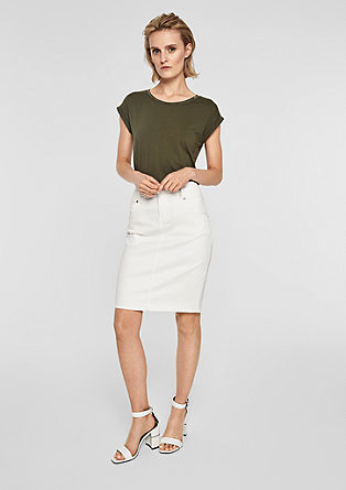 Pencil Skirt aus Denim