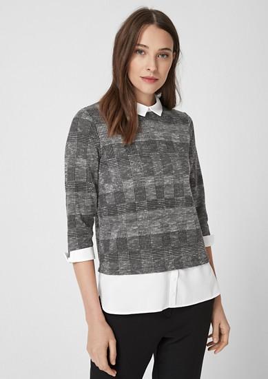 Shirt im Layer-Look