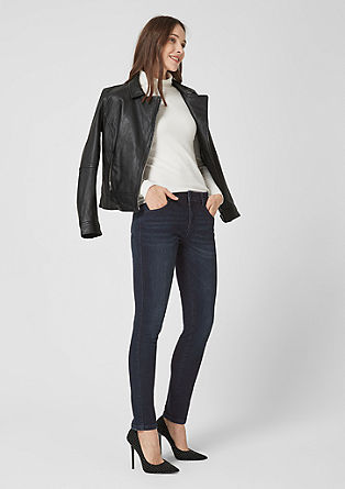 Sienna Slim Low: Dark Denim
