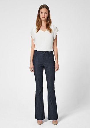 Milli Bootcut: Modre jeans hlače