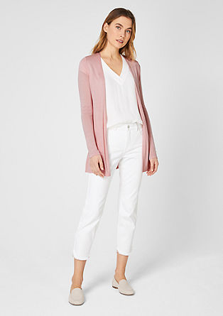 Delicate open-fronted cardigan from s.Oliver