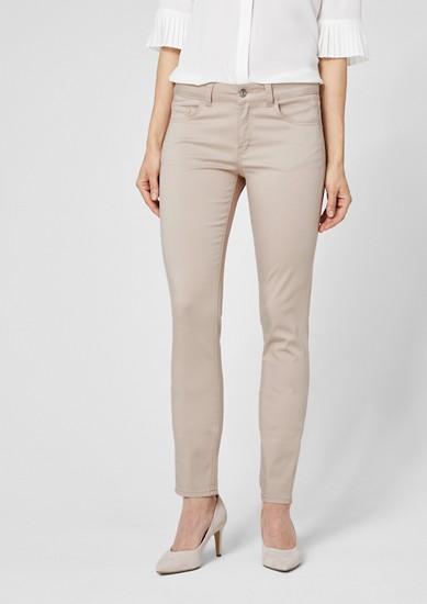 Sienna Slim: zkrácené saténové kalhoty