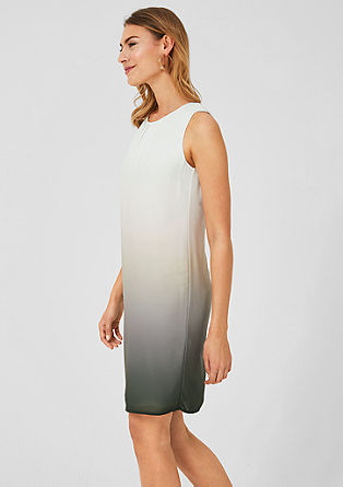 Chiffon dress with a colour graduation from s.Oliver