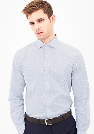 Modern Fit: stretch shirt from s.Oliver