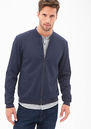 Lahka jakna v slogu bluzona