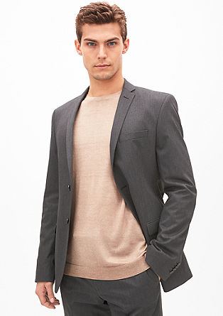 Cosimo Slim: melange sports jacket from s.Oliver