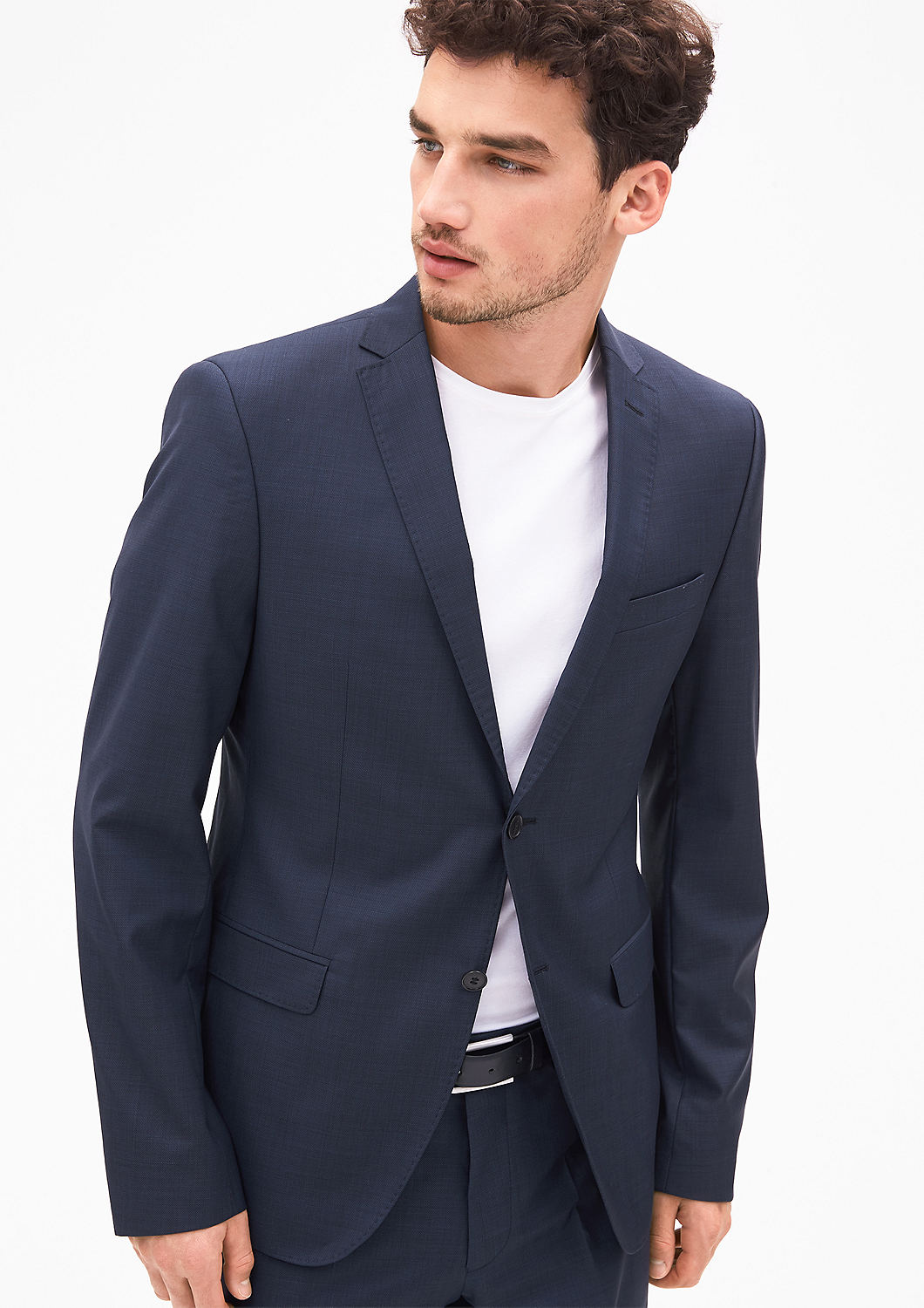 Buy Cosimo Slim  Jacket with a woven texture   s.Oliver shop bd0ff651bc