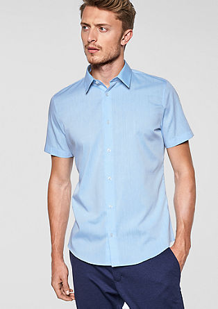 Slim Fit: Elegantes Kurzarmhemd