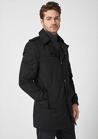 Smalle twill trenchcoat