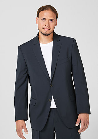 BIG SIZE: Sports jacket with new wool from s.Oliver