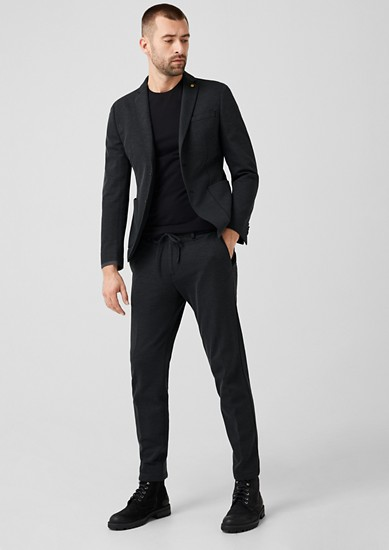 Slim: jogg suit broek – limited edition