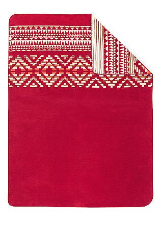 Weiche Jacquard-Decke