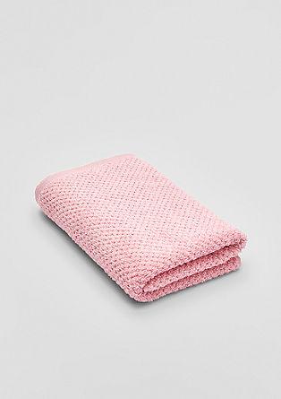 Puhasto mehka brisača za prhanje