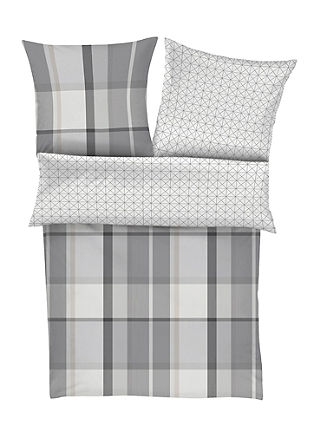 Set Flanell-Bettwäsche und Socken