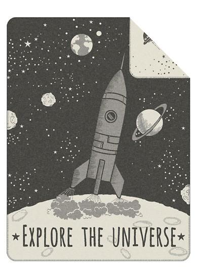 Odeja z motivom vesolja